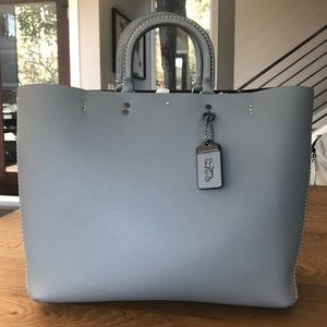 Coach Rogue Tote in Heather Grey - NWT